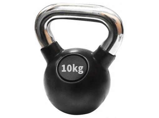 Ručni teg gumiran 10 kg