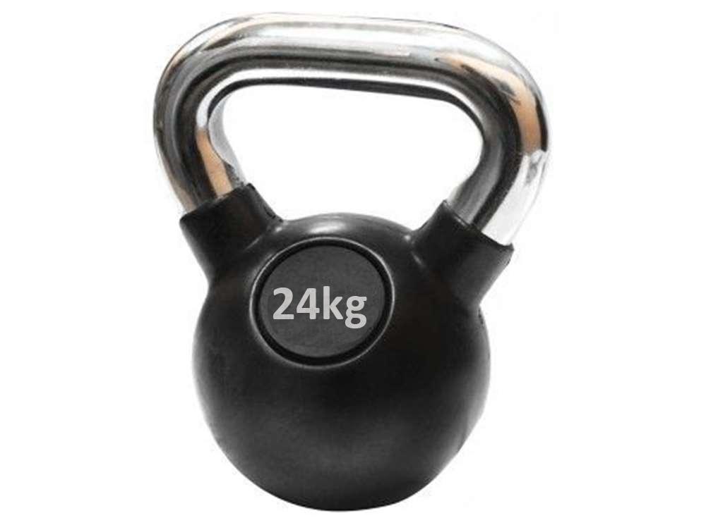 Ručni teg gumiran 24 kg