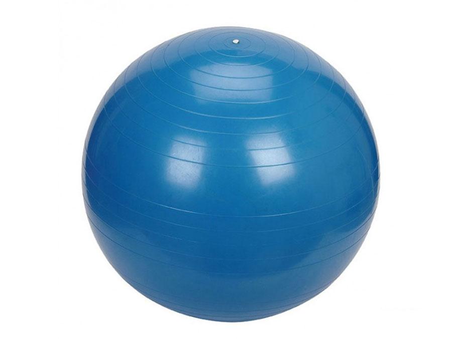 Gimfit lopta za vežbanje pilates 65cm plava