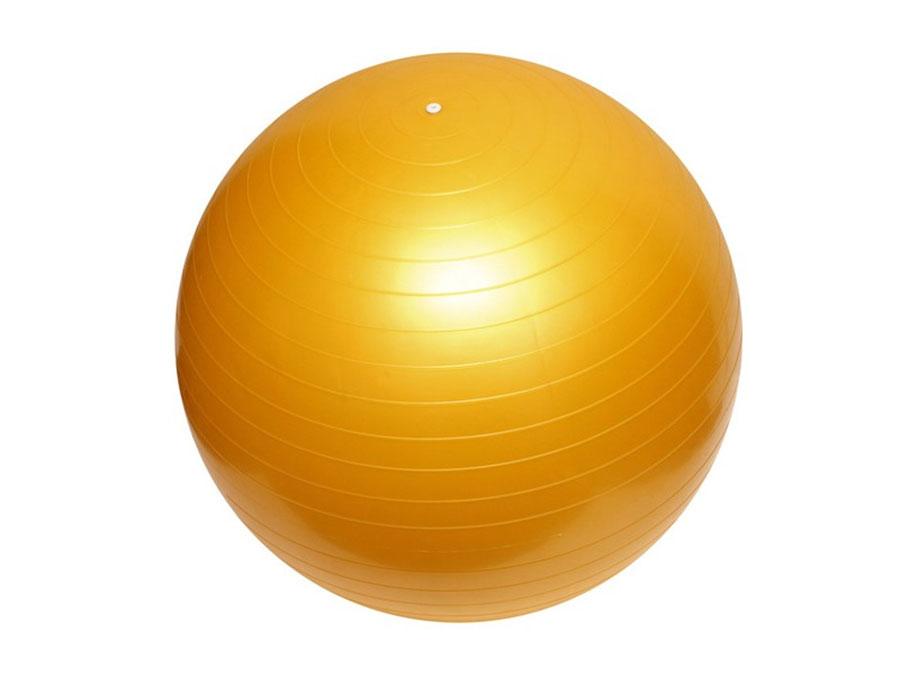 Gimfit lopta za vežbanje pilates 65cm žuta